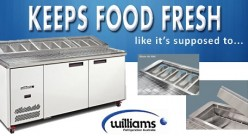Williams - Refrigerated Prep Bench