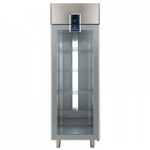 1 Glass Door Digital Freezer, 670lt (-20/-15) – R290