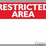Restricted Area Blank