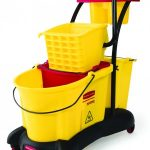 7780  WaveBrake® Mopping Trolley Side Press