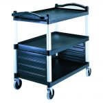 Single Shelf Panel Set Black Cambro - BC340KDP110