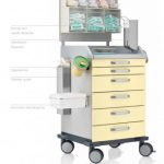 Blanco ICU Trolley