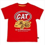 CAT Kid Articulated Truck Tee
