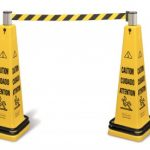Cone Barrier with Belt 6287