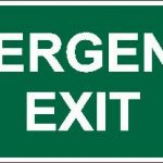 Emergency Exit W/Gr Lumi