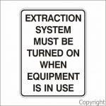 EXTRACTION SYSTEM ETC.,