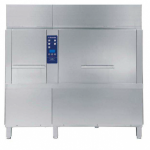 Electric Rack Type Dishwasher with Atmospheric Boiler, Energy Saving Device & Duo Rinse - 140 r,hr