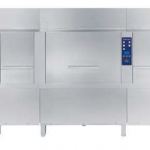 Electric Rack Type Dishwasher with Atmospheric boiler, Energy Saving Device and Duo Rinse – 180 r,hr