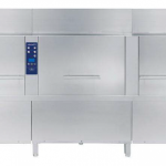 Electric Rack Type Dishwasher with Atmospheric boiler and Duo Rinse – 180 r,hr