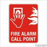Fire Alarm Call Point and Picto