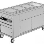 Mobile Bain Marie Hot Cupboard