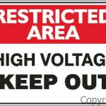 Rest. Area High Voltage