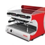 San Remo Capri Coffee Machine LS1101 - Red