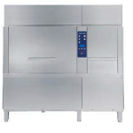Steam Rack Type Dishwasher with Atmospheric boiler, Energy Saving Device and Duo Rinse - 140 r,hr